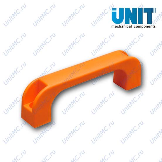 Ручка скоба пластиковая оранжевая 14041