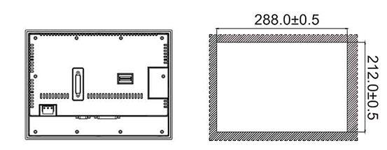 Панель управления оператора PI8104