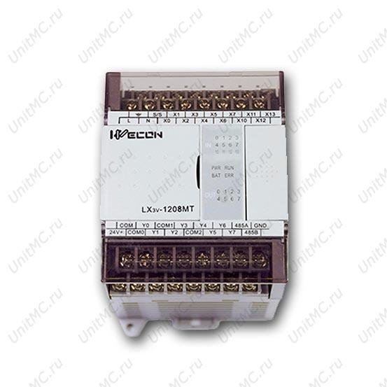 ПЛК контроллер LX3V-1208MT Wecon