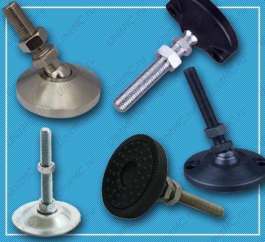 Винтовые регулируемые опоры для оборудования. Изображение для раздела каталога
