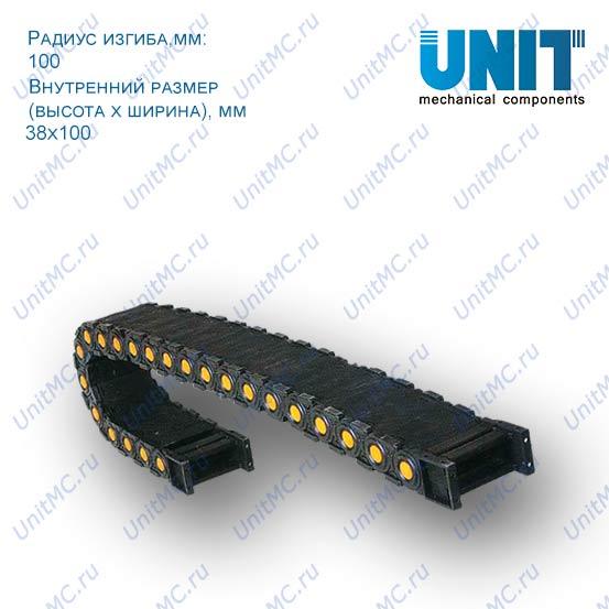 Гибкий подвижный кабель канал TZ38 (энергоцепь)