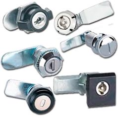 Кулачковые (почтовые) врезные замки для металлических шкафов и ящиков