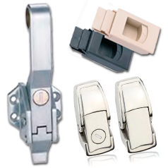 Замки-защелки для дверок промышленного оборудования
