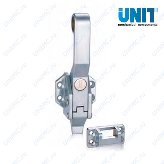 Ручка замок LS13-2-1 FeiLei прижимная для холодильных и сушильных камер с блокировкой на ключ
