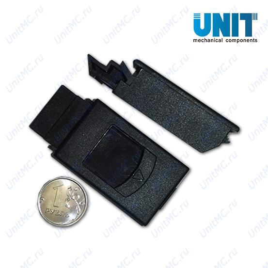 Слайд-защелки пластиковые LS735 black