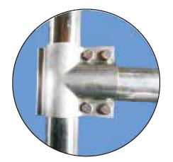 Металлический соединитель.Пример использования