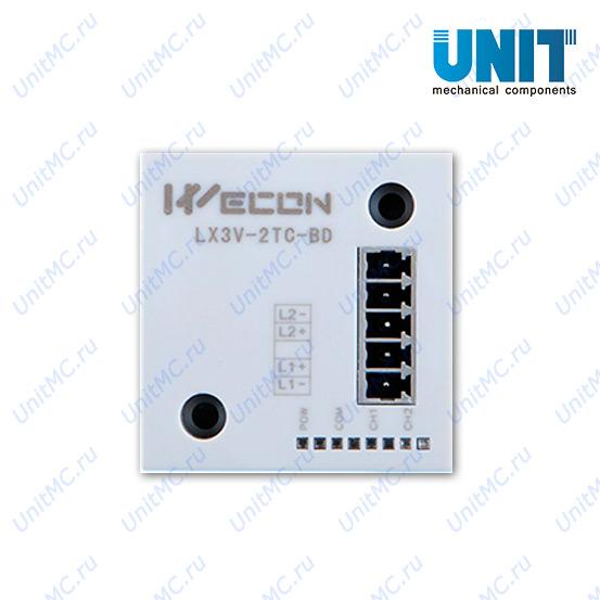 LX3V-2TC-BD PLC Wecon вид спереди
