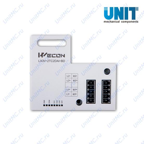 LX3V-2TC2DAI-BD Wecon модульная плата