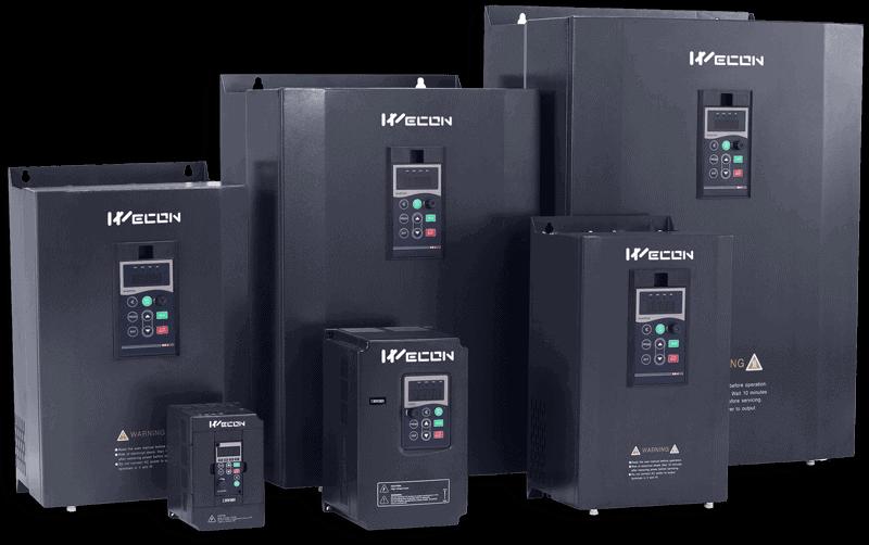Преобразователи частоты Wecon для двигателей
