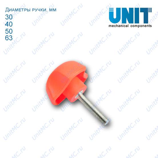 Ручка трехлепестковая со шпилькой PYCT
